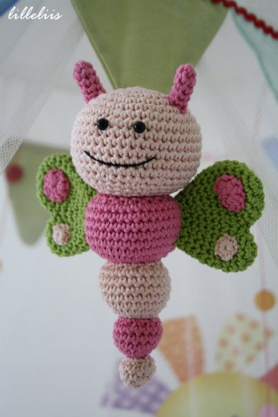Diy Free Crochet Pattern For Baby Rattles : amigurumi butterfly crochet patterns free You are here ...