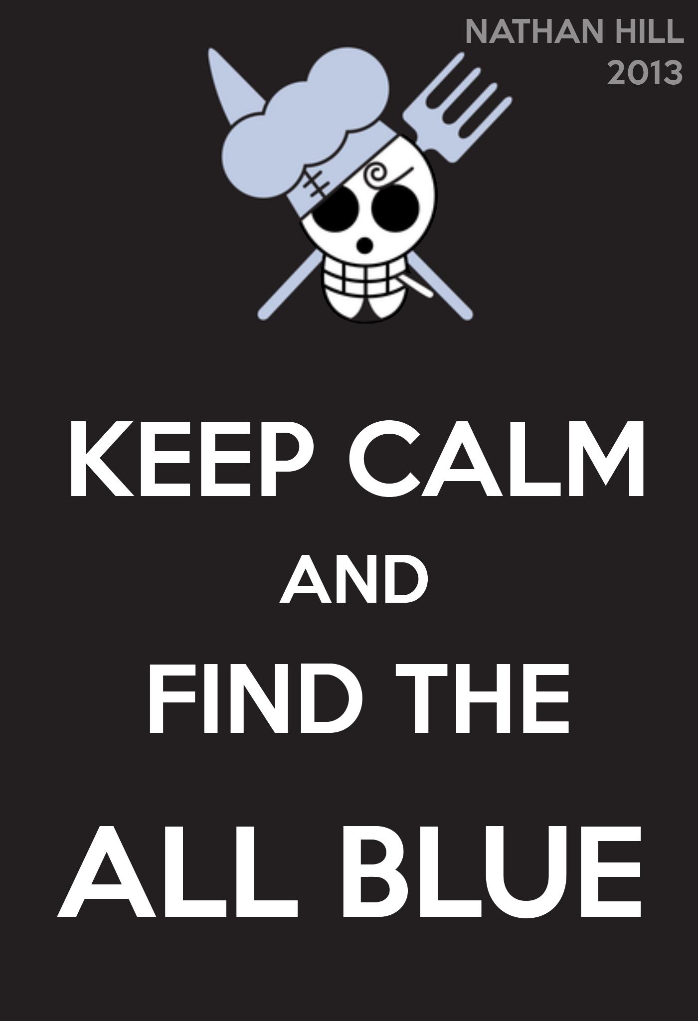 One Piece Keep Calm Sanji