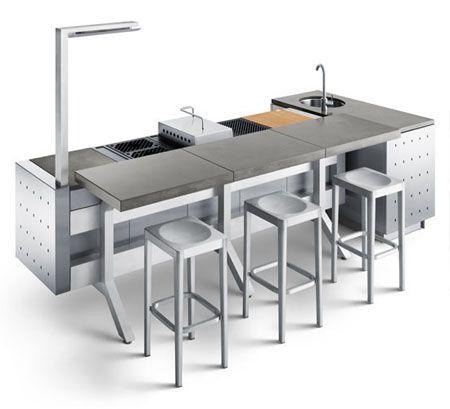 KITCHEN COMPACT - Buscar con Google Cocina Kitchen Cuisine Küche - edelstahl outdoor küche