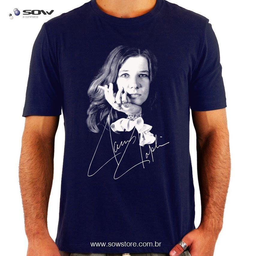 Camiseta Janis Joplin  8083a088342