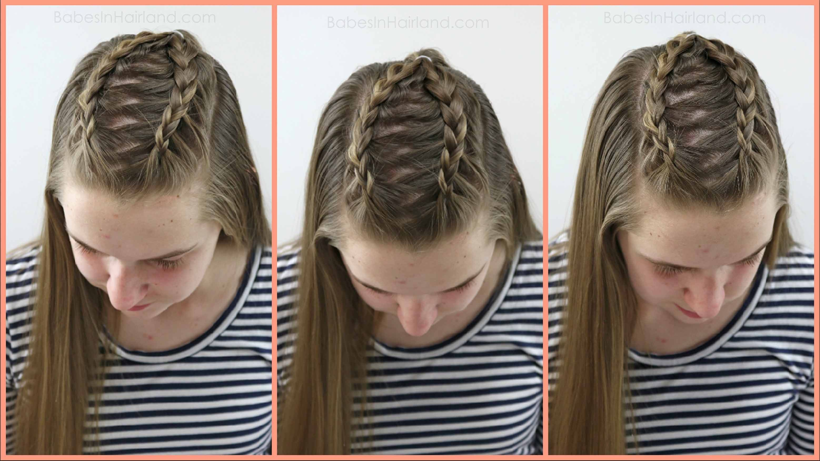 2 dutch braids 5 different hairstyles | hair and beauty