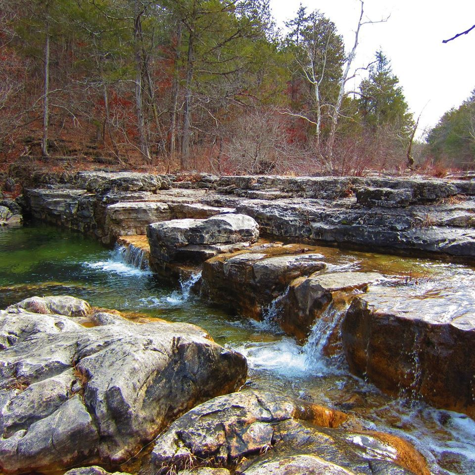 Hercules Glade Wilderness, Mark Twain National Forest, Taney County,  Missouri   Hiking The