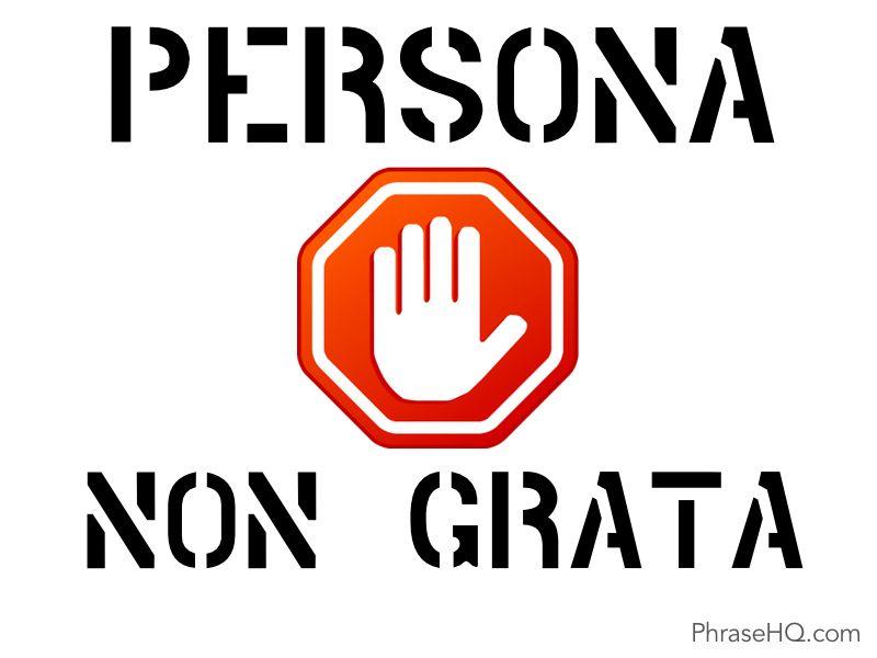 Persona Non Grata: Pin By Argyro Papagianni On Idioms