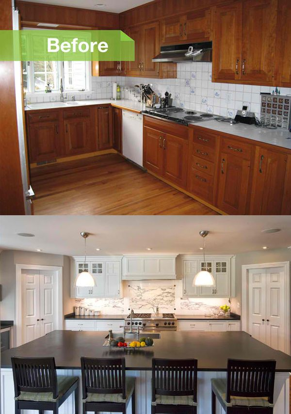 Before and After Photos of a Modernized 1970s New Jersey Colonial ...