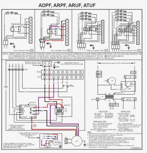 York Hvac Wiring Diagrams | Goodman furnace, Thermostat wiring, Air handlerPinterest