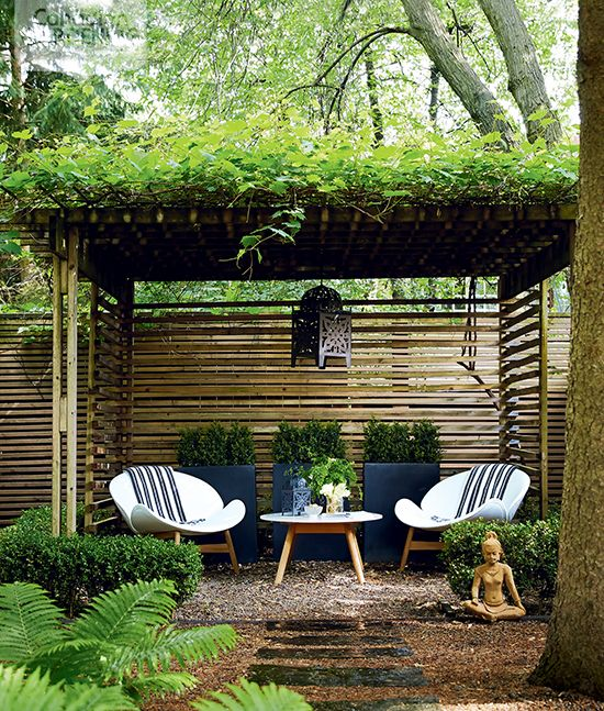 Create A Minimal Exotic Sanctuary In Your Backyard