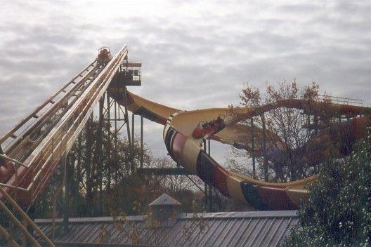 La Vibora Six Flags Over Texas Arlington Texas Usa Six Flags Six Flags Over Texas Thrill Ride