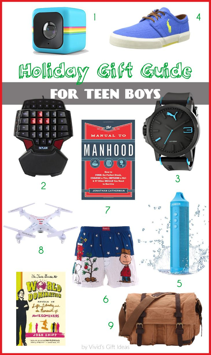 9 Christmas Gift Ideas for Teen Guys | Gifts for Teenagers ...