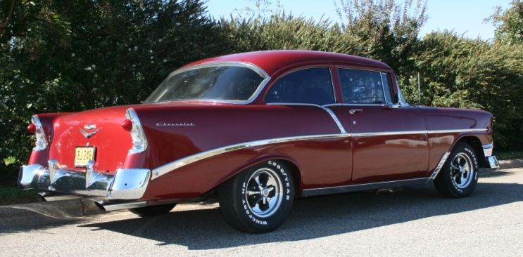 1956 CHEVROLET 210 SEDAN (With images) Sedan, Candy
