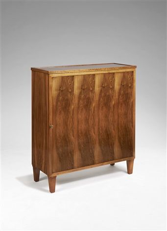 Meuble de rangement by Jean Michel Frank and Adolphe Chanaux A beech