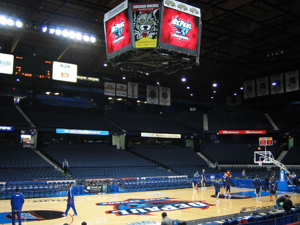 Allstate Arena is a multipurpose arena, situated in