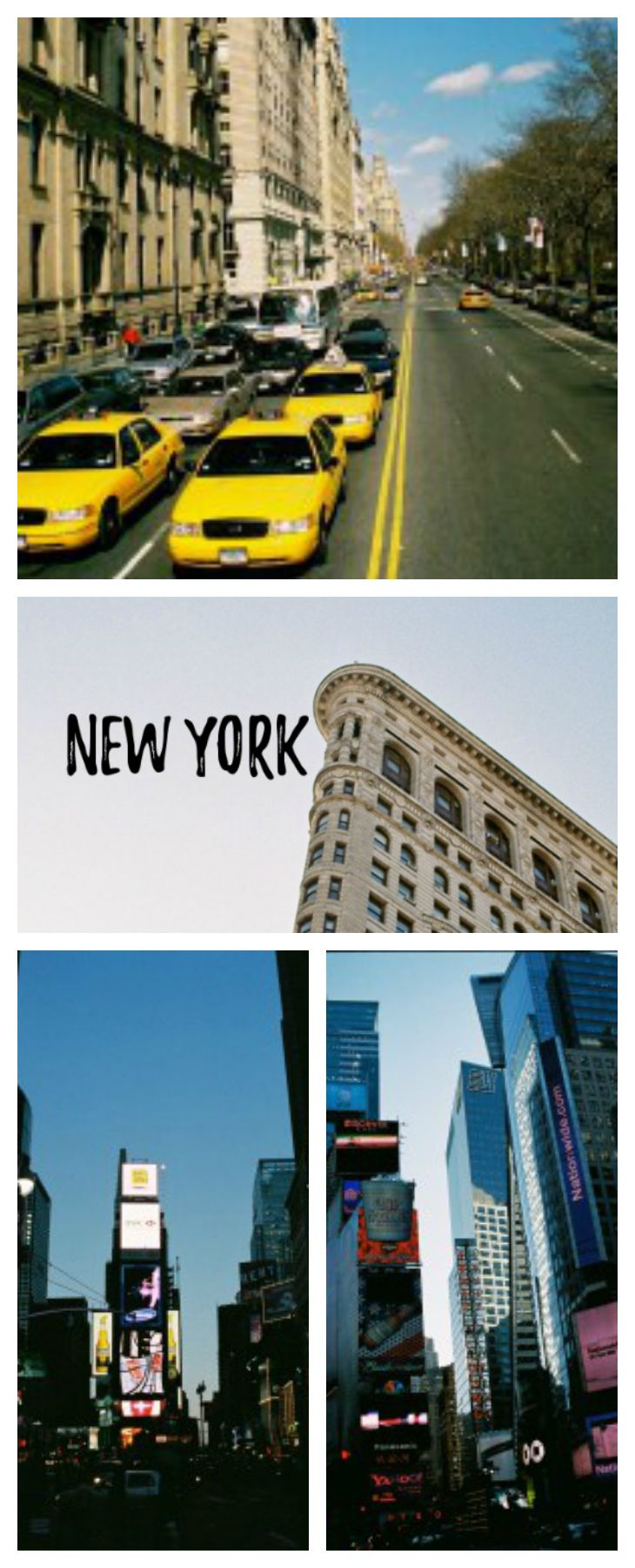 Visiting the big apple? Here's an account of my adventures in New York!