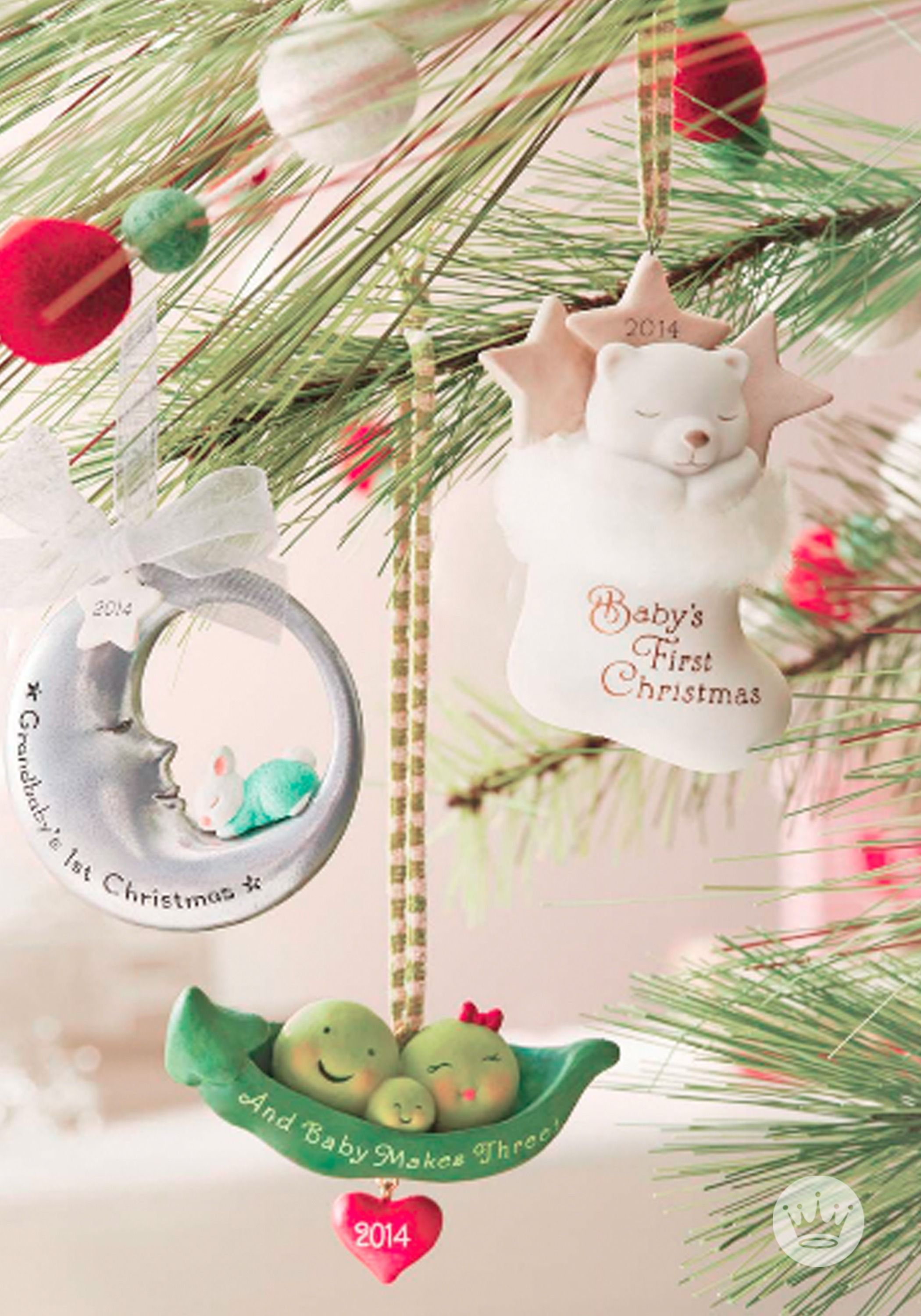 babys first christmas should be celebrated in style choose a keepsake ornament to remember all those adorable firsts first stocking first visit from - When Was The First Christmas Celebrated