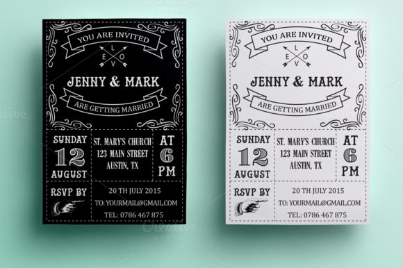 retro wedding invitation   retro wedding invitations, Wedding invitations
