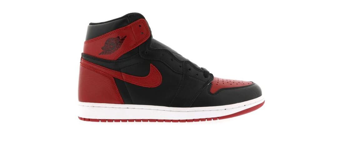 Check out the Jordan 1 Retro Bred (2016) available on StockX  985ec6b07