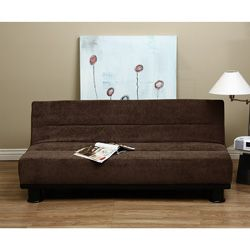 @Overstock - You can relax comfortably in four reclining positions on this Cocoa Velvet sofa bed. This versatile furniture features a frame made of wood and steel for lasting durability.http://www.overstock.com/Home-Garden/Cocoa-Velvet-Sofa-Bed/4488328/product.html?CID=214117 $209.99