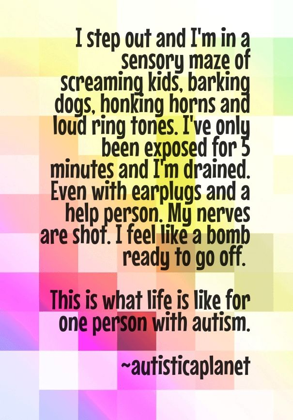 sensory processing and autism