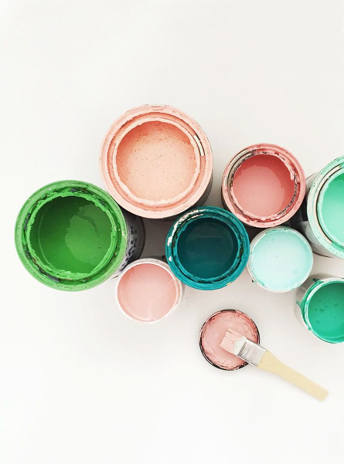 PIck a paint colour and start painting!