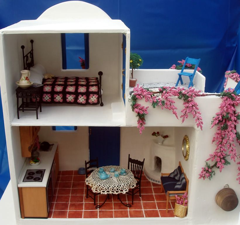Dollhouse Miniatures Texas: 2009 Spring Fling Contest