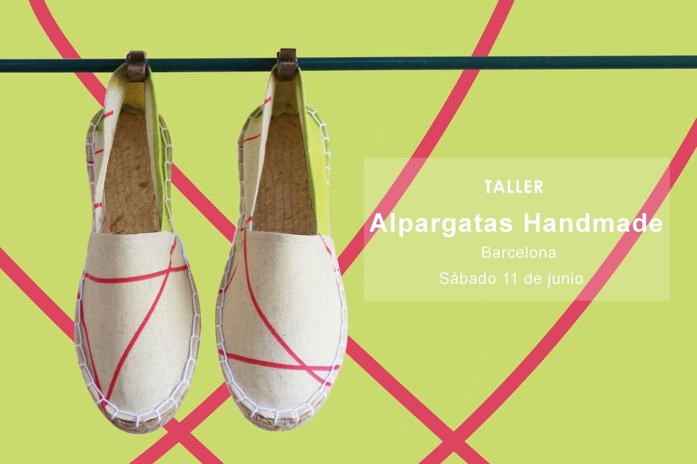 Este sábado impartiremos nuestro taller de alpargatas handmade en @costuretas, todos los materiales incluidos. Si quieres aprender a hacerlas de un modo sencillo y llevártelas puestas, no lo dudes, reserva tu plaza ya (link en la bio), te esperamos!   #shoes #espadrilles #alpargatas #workshop #taller #curso #barcelona #hechoamano #espardenyes