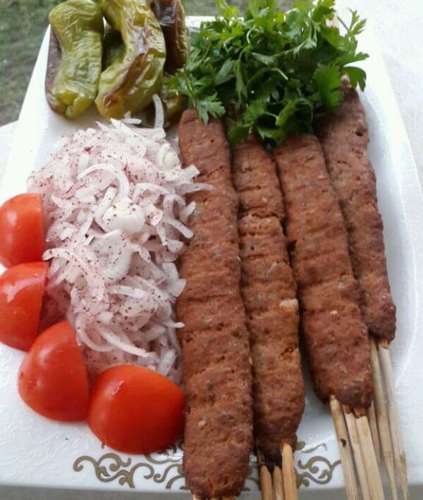 Turkischer Kebab Aus Dem Ofen Firinda Adana Kebap Kebab