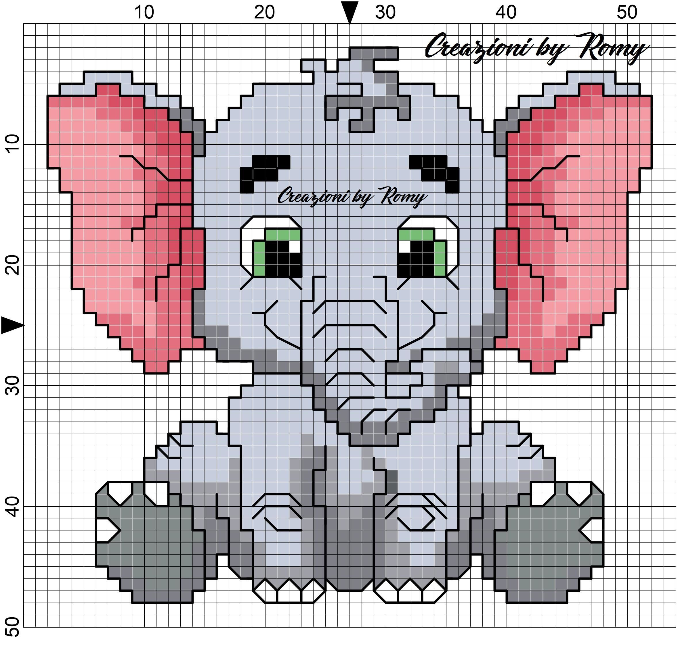 Tappeto Elefante Uncinetto Orsi Archivi Cosecosì Di