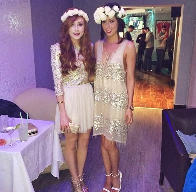 Sophisticated Cly Hen Party Inspiration From Stylish Las In Cork A Cream Gold