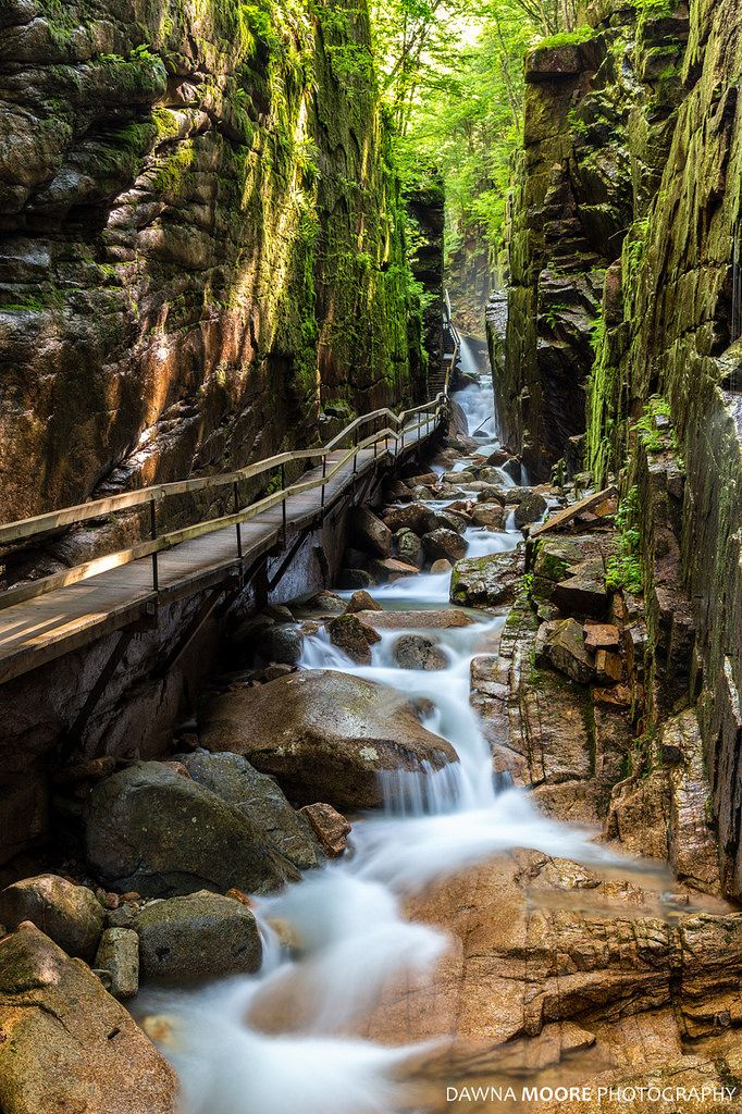 The Flume Gorge Lincoln New Hampshire Cool Places To Visit Lincoln New Hampshire Places To Travel