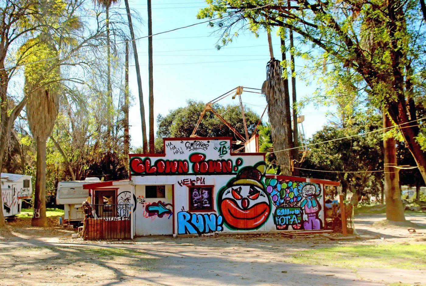 Abandoned Amut Park Hidden San Go