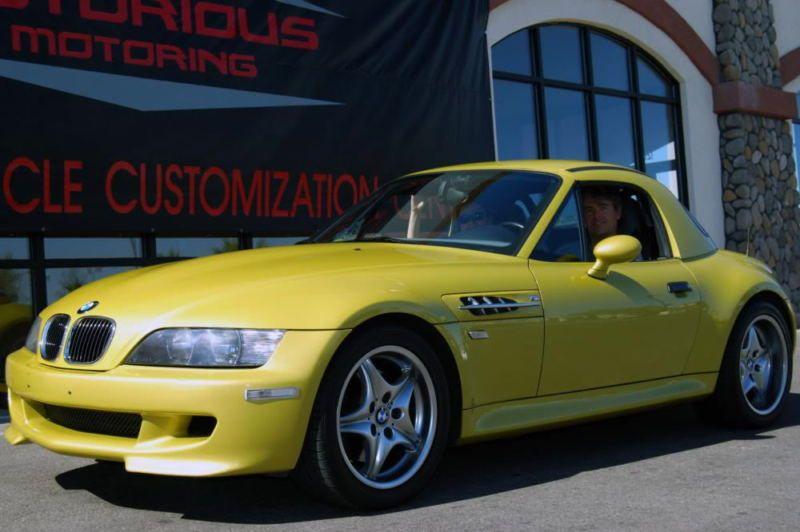 2001 Bmw M Roadster Hardtop Yellow Bmw Bmw Alpina Bmw Z3