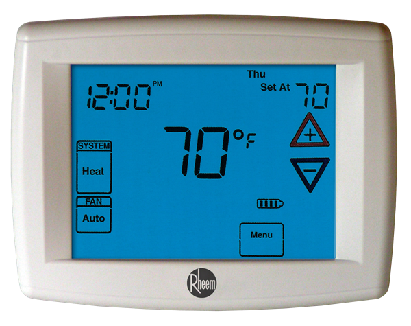 Rheem 300 Series Deluxe Programmable Thermostats Series