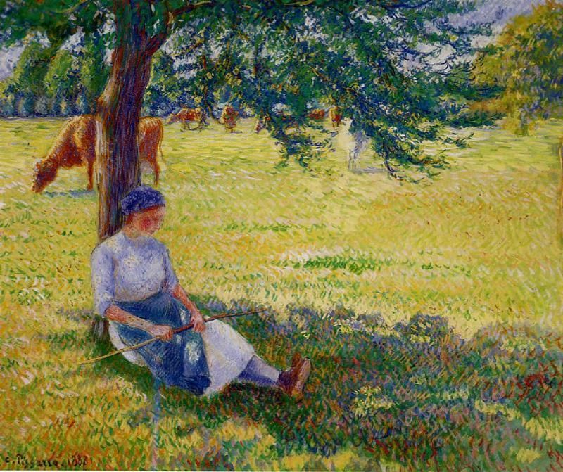 Jacob Abraham Camille Pissarro 1830 1903 Danish French Impressionist And Neo Impressionist Painter 548