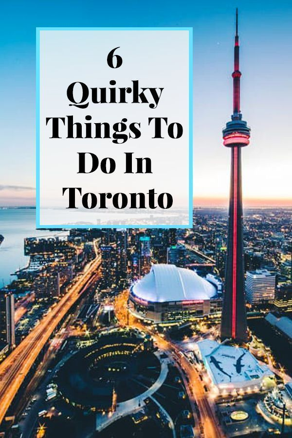 Headed to Canada? Make sure you check out these 6 quirky things to do in Toronto! This will help make your Toronto itinerary an off the beaten path and exciting one! #toronto #thesix #canada #torontotravel #canadatravel #travelawaitsnow | travelawaits.com