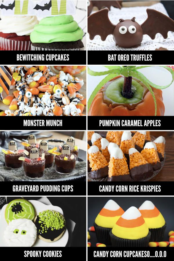 Fun Halloween Food Ideas for Every Meal - From Food ideas - pinterest halloween food ideas