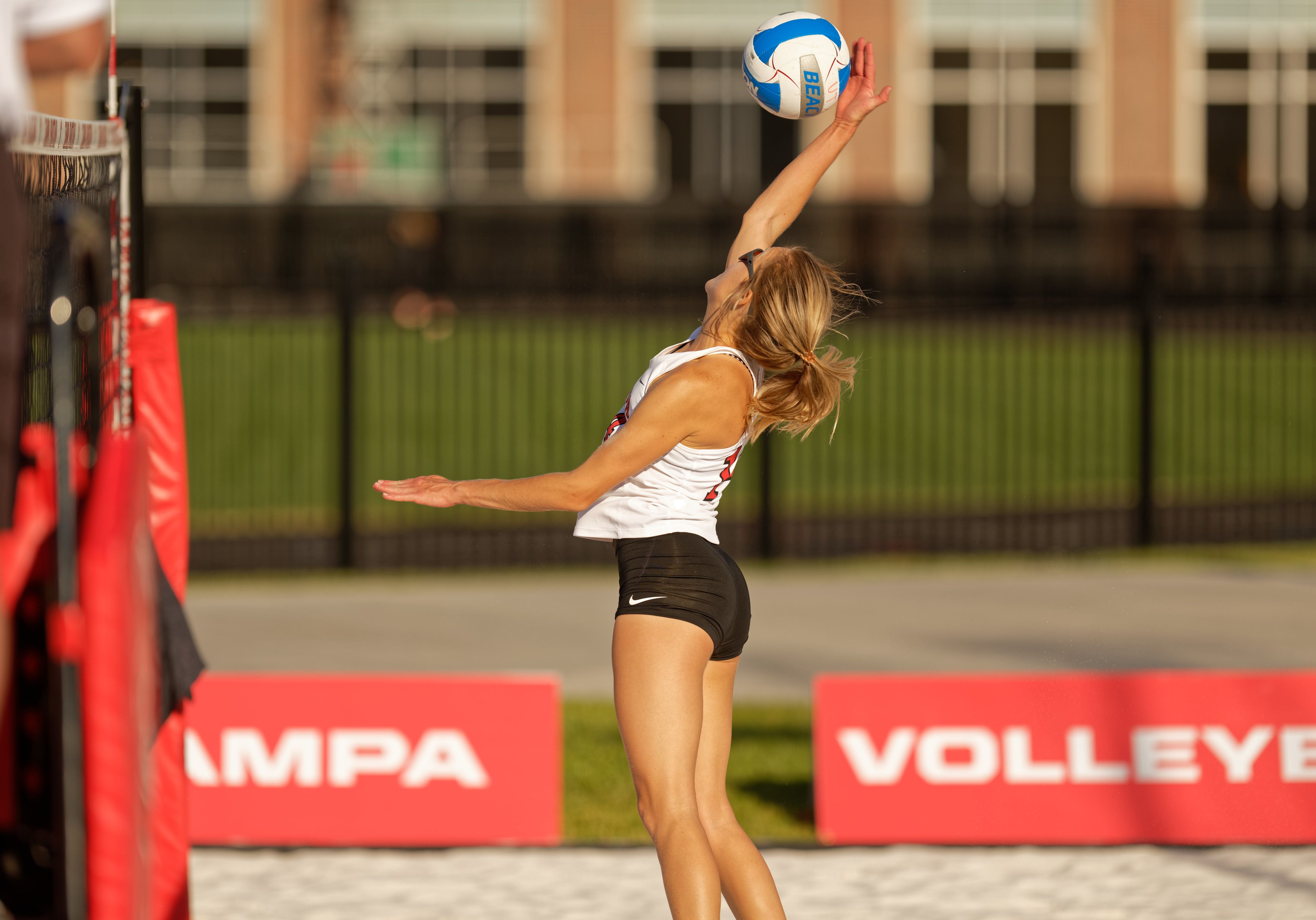 University Of Tampa Division I Beach Volleyball University Of Tampa Beach Volleyball Athlete