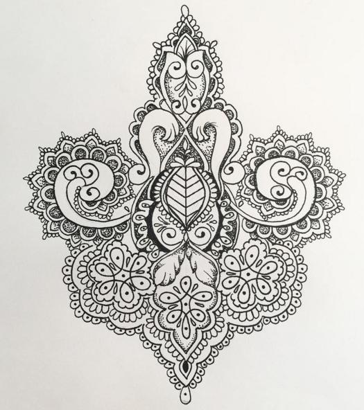 olivia fayne tattoo design miscellaneous art pinterest tattoo designs tattoo and mandala. Black Bedroom Furniture Sets. Home Design Ideas