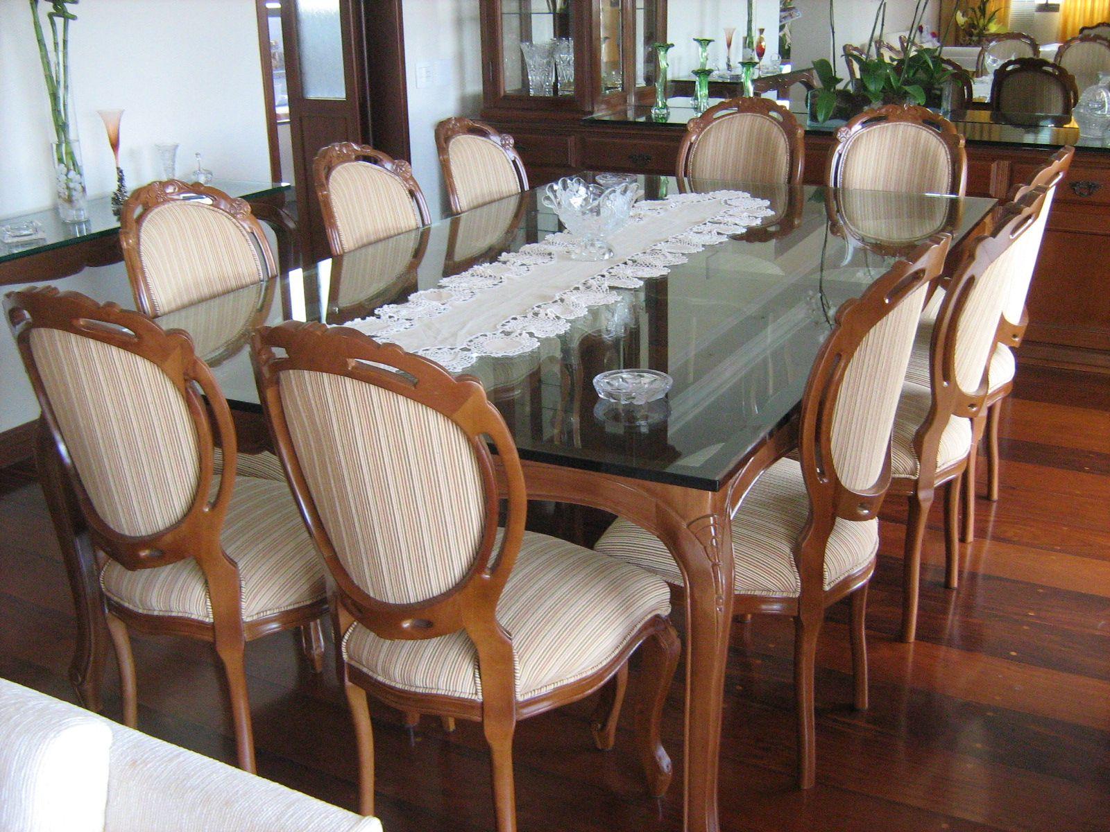 Sala De Jantar Usada Sp ~  Salas de Jantar  Pinterest  Cadeira medalhão, Sala de jantar de