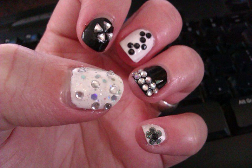 Nail Art Designs for short Nails | Nail Art | Pinterest | Nail art ...