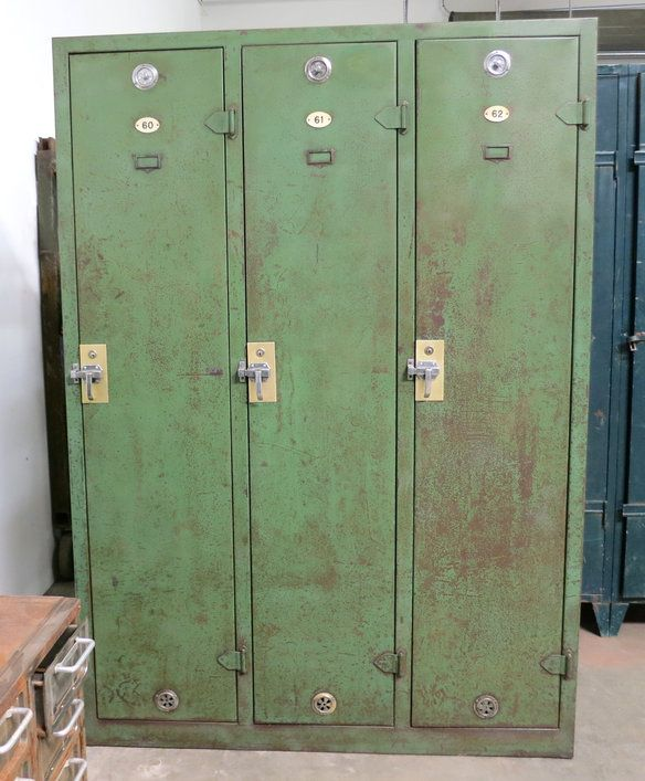 Vintage Industrial Doors : Loading door locker lockers and vintage industrial