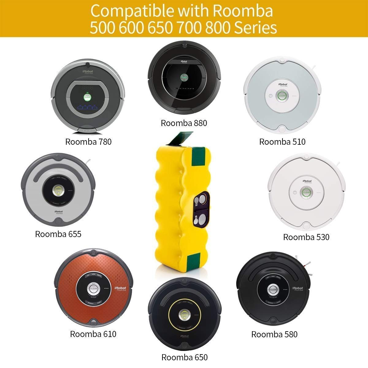 Morpilot Irobot Roomba Bateria 3800mah Ni Mh Bateria Para Irobot