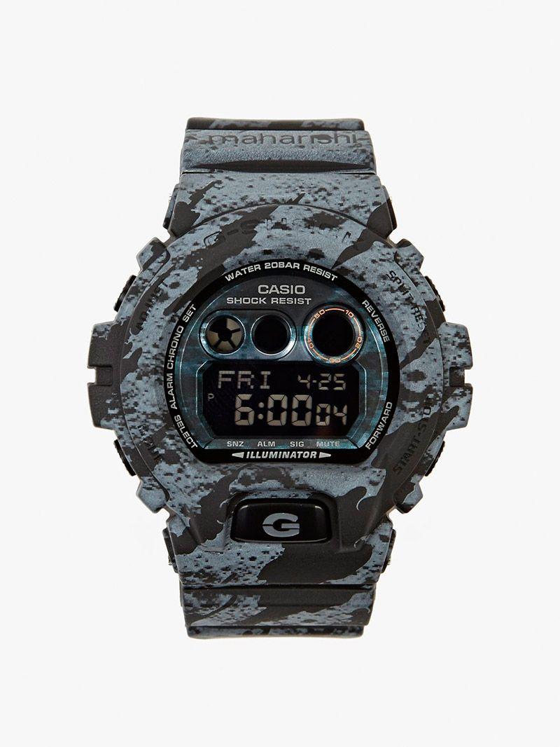 b400985f2 CASIO G-SHOCK X MAHARISHI. 'LUNAR BONSAI' Watch | Watches | Casio g ...