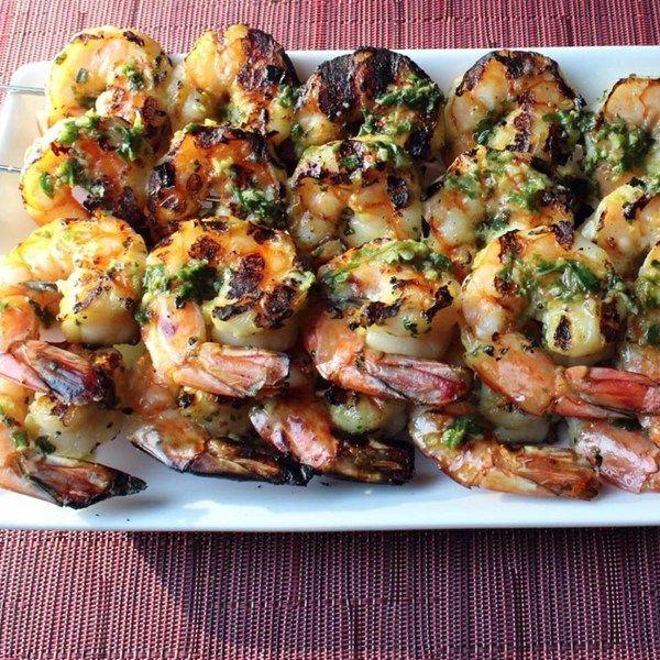 Summer Herbed Grilled Shrimp Recipe