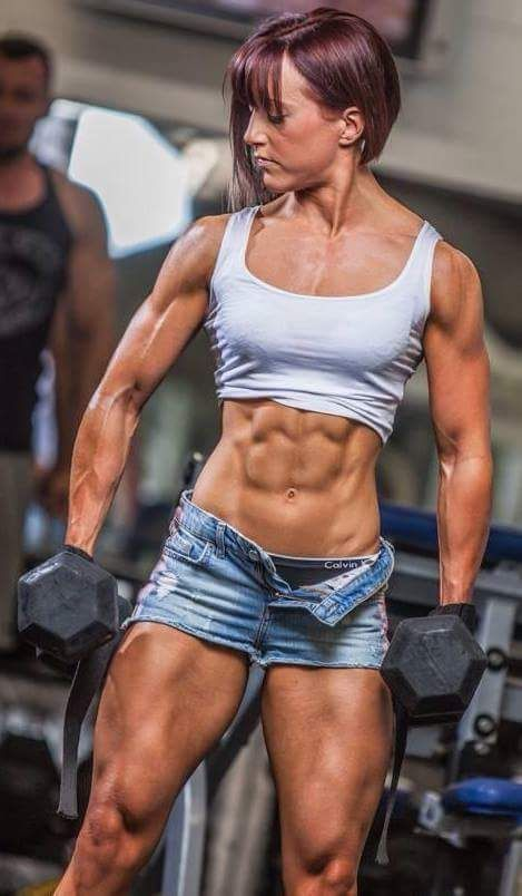 Muscular girls foto 58