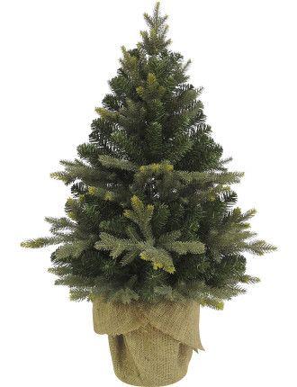 91cm Burlap Tree In Bag Plain Green 89 95 Burlap Trees Christmas Tree Ornament Gifts