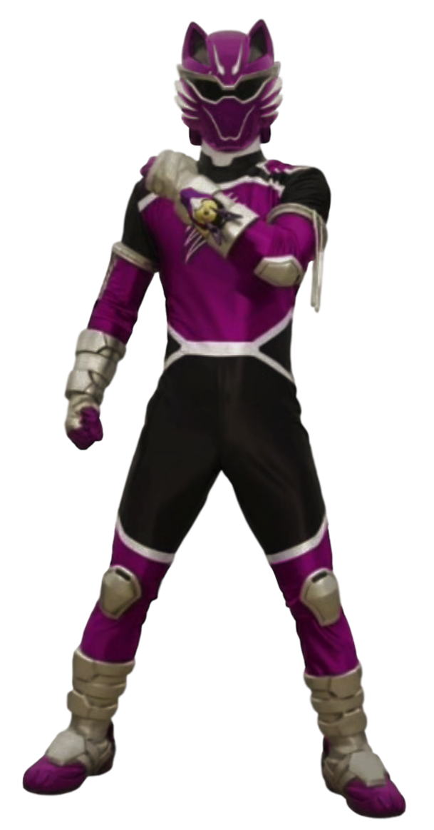 Jungle Fury Wolf Ranger Transparent! by CamoFlauge
