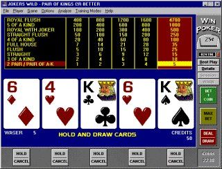 Video poker training online how to bet the same number as someone else in roulette