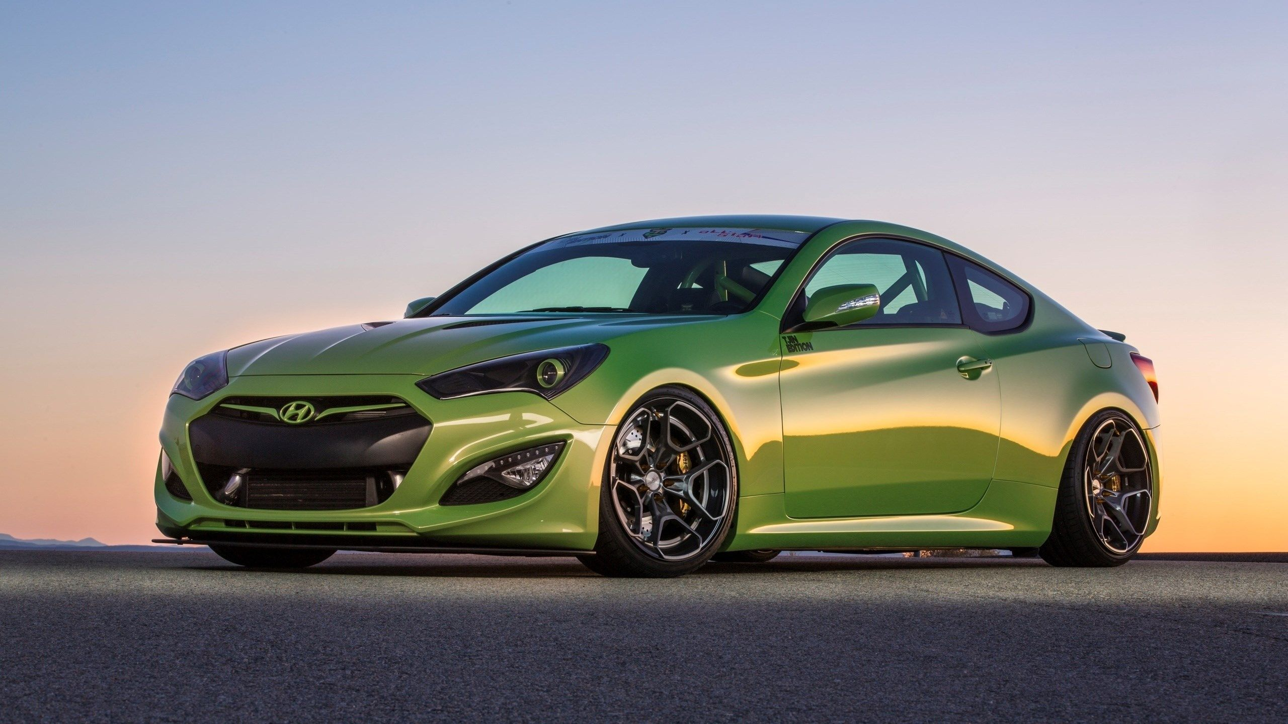 2560x1440 px free high resolution wallpaper hyundai genesis coupe by edgardo little for twd