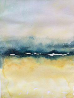 Watercolor Landscapes Abstract Google Search Peinture Abstraite Peinture Aquarelle
