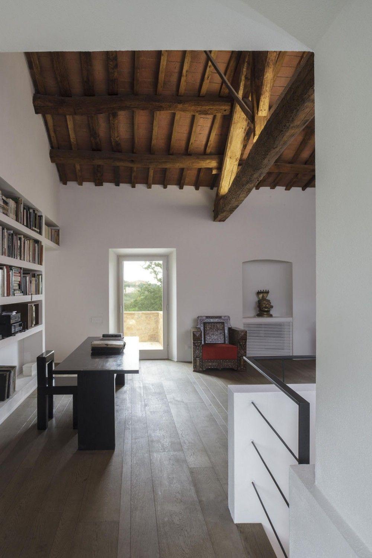 Casa A2 / VPS Architetti despacho, rustico, vigas techo madera, blanco