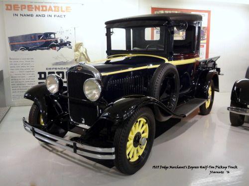 1929 Dodge Merchant's Express HalfTon Pickup Truck Walter